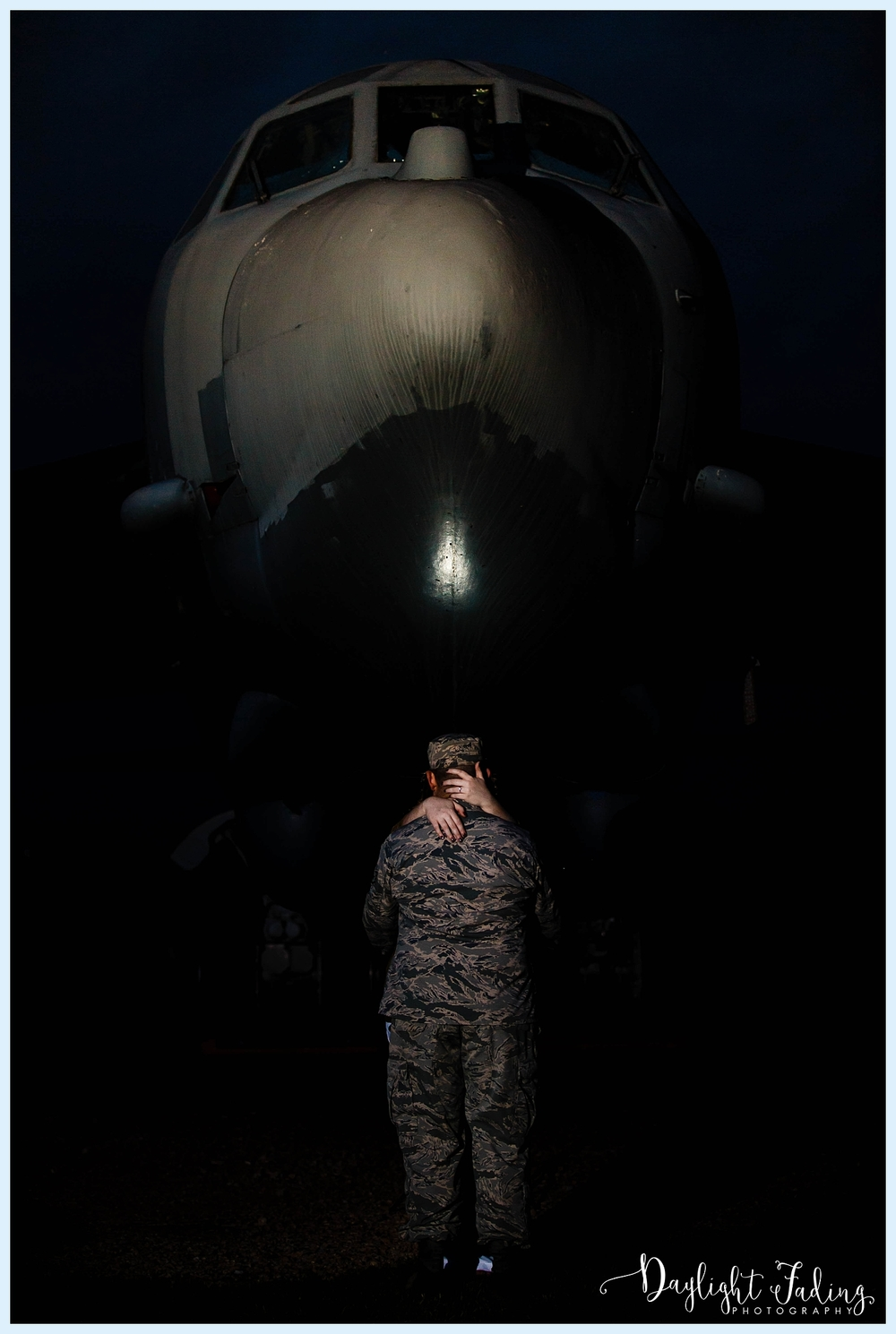 Military Engagement Session Barksdale Air Force Base Bossier City Shreveport Louisiana