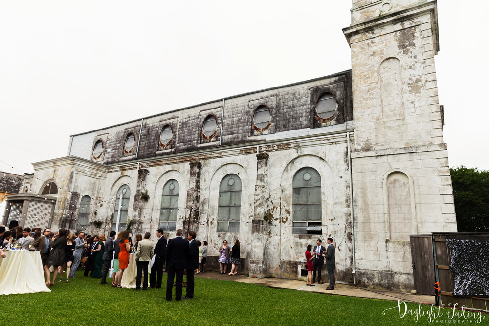 Destination Wedding Reception at Marigny Opera House in New Orleans, Louisiana - daylightfadingphotography.com