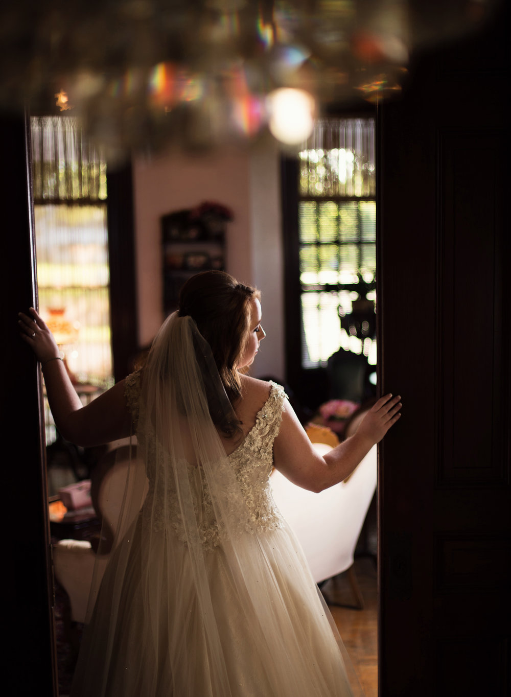 Logan Mansion Bridal Portraits