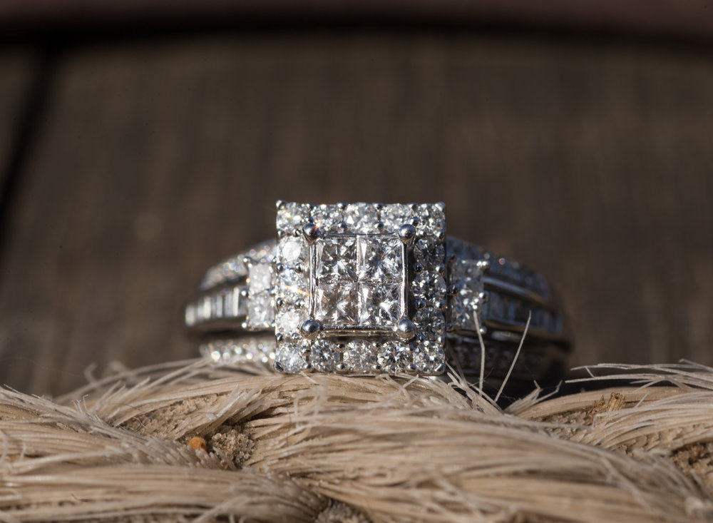 Engagement Ring at Holly Hills Farm in Benton