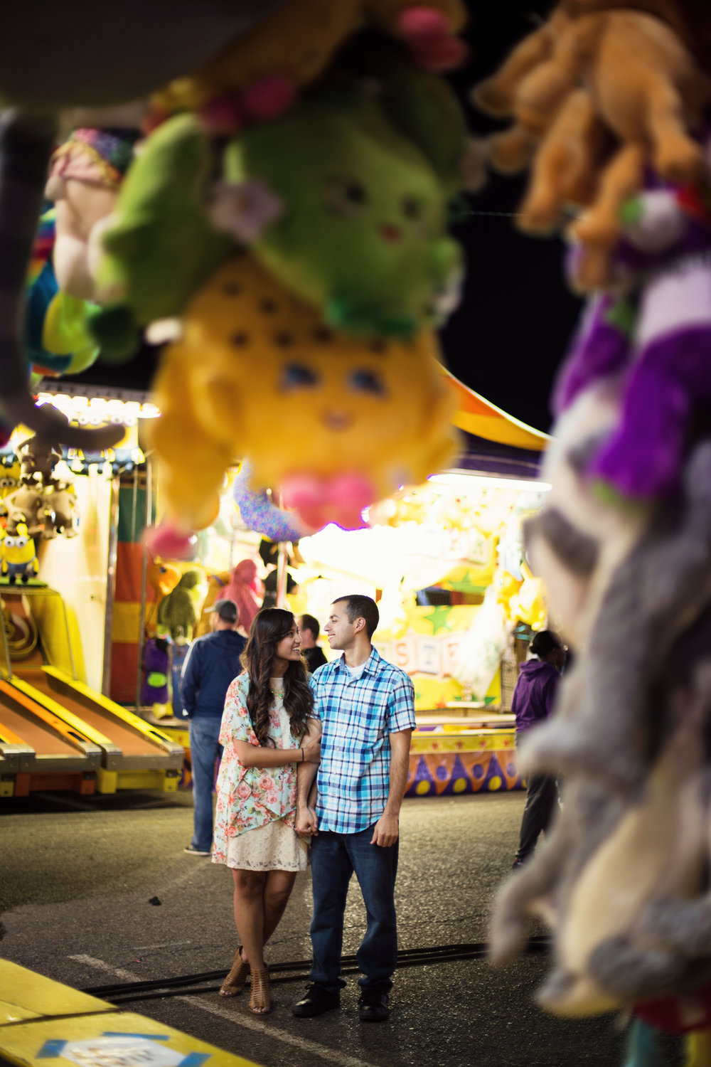 Engagement Photos at the Fair