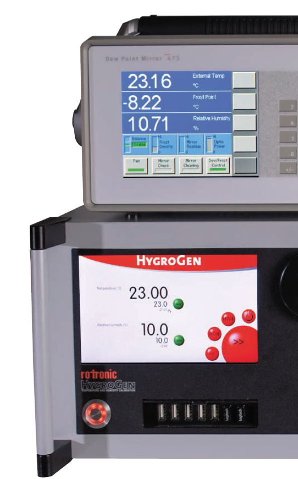 HygroGen2 + MBW 473 is a perfect combination for low uncertainty calibrations