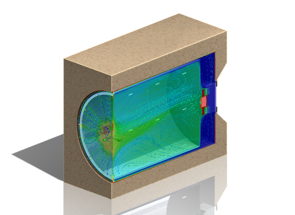 Modelling thermal gradients in CFD