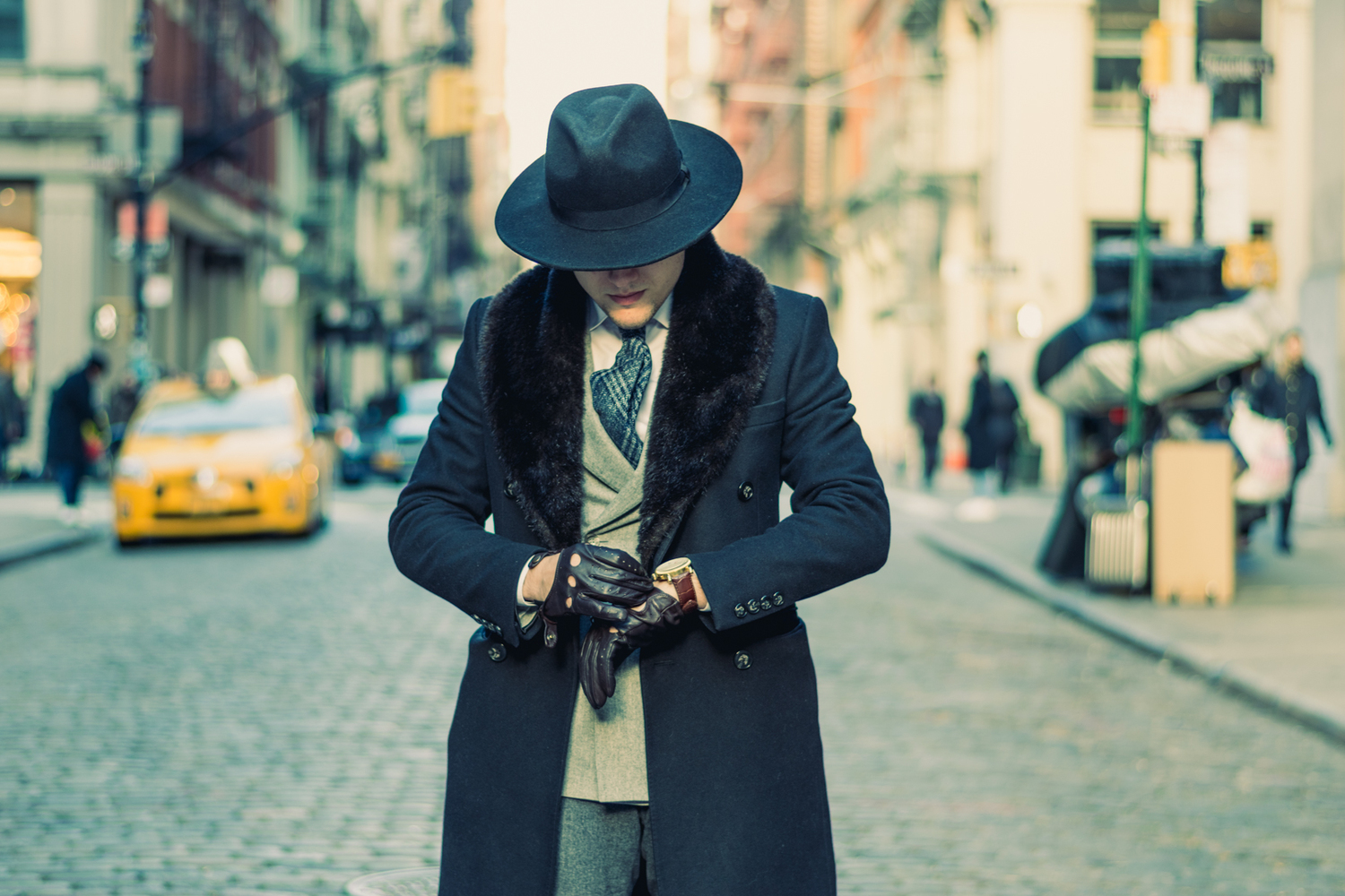 Welcome To The Dapper Club ------ Greene St , NYC — Thread Report