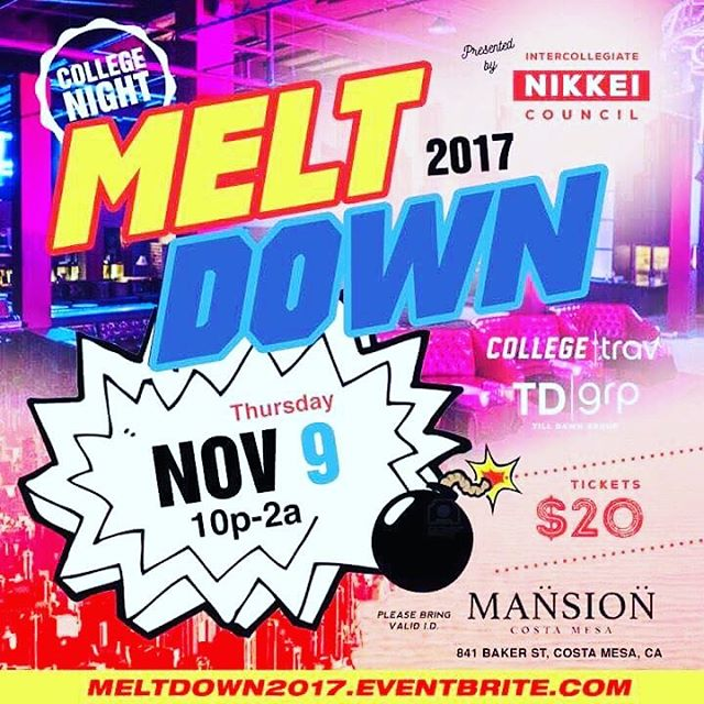 DO YOU LIKE CLUBBING? Don't forget to purchase your Meltdown tickets from any Tomo cabinet member! $20 for a ticket and an extra $10 for a bus seat that will shuttle you to the venue! Hurry and get yours today because they're selling like hot gyozas on a stick!  Speaking of which..... we are selling gyozas on a stick on Ring Road Wednesday! So be sure to stop by! Stay litty as a mcgriddy from mcdiddies!🔥 Tomo pub over and out