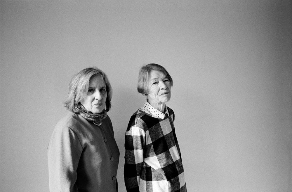 MARY GORDON + GLENDA JACKSON FOR T MAGAZINE