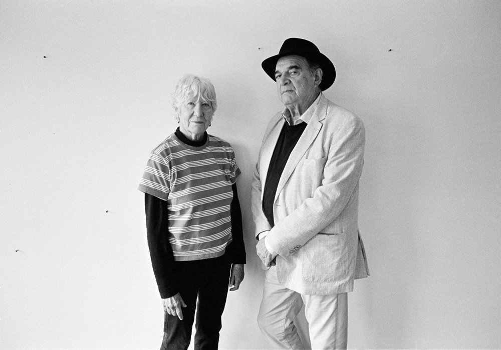 MARY HEILMANN AND LARRY BELL           FOR T MAGAZINE