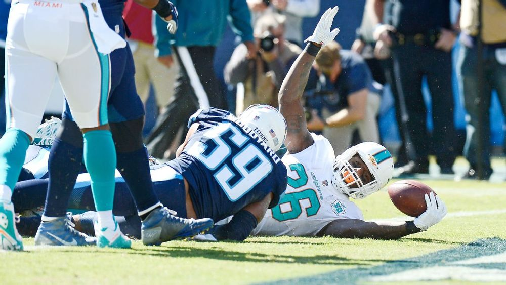 Lamar Miller rushed for over 100 yards including this touchdown