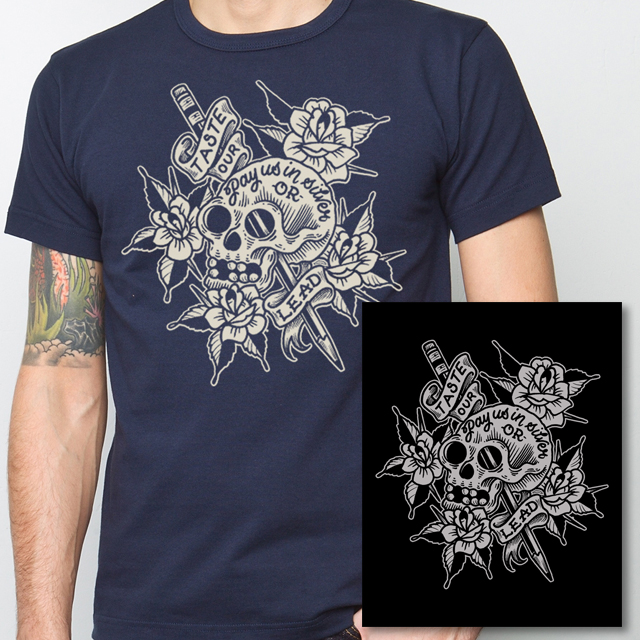 Shirt With Free 8 x10 Art Print $25