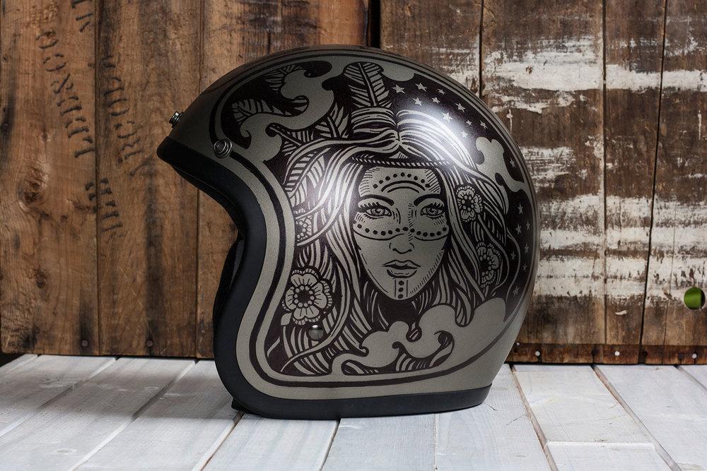 This Strawcastle Helmet