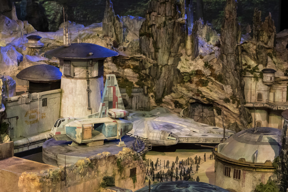 Star Wars Galaxy's Edge Village