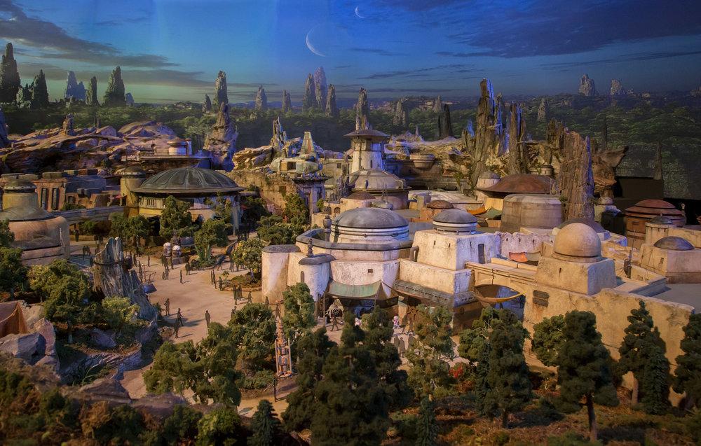 Star Wars Galaxy's Edge Village