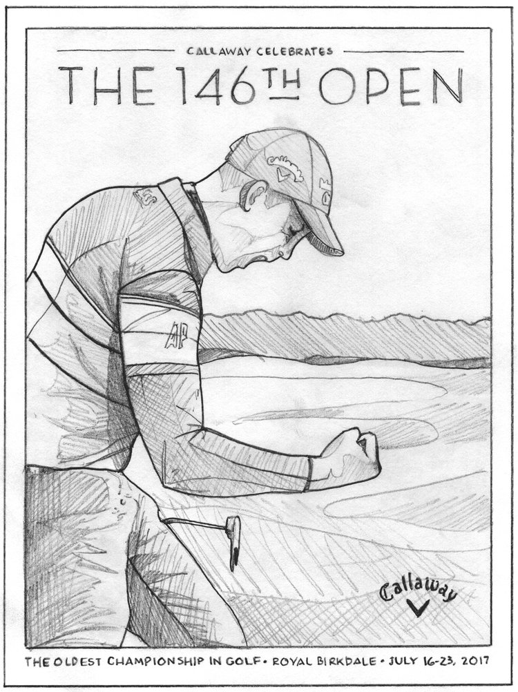 Callaway+Open+Championship+Poster+by+DKNG-3.jpeg