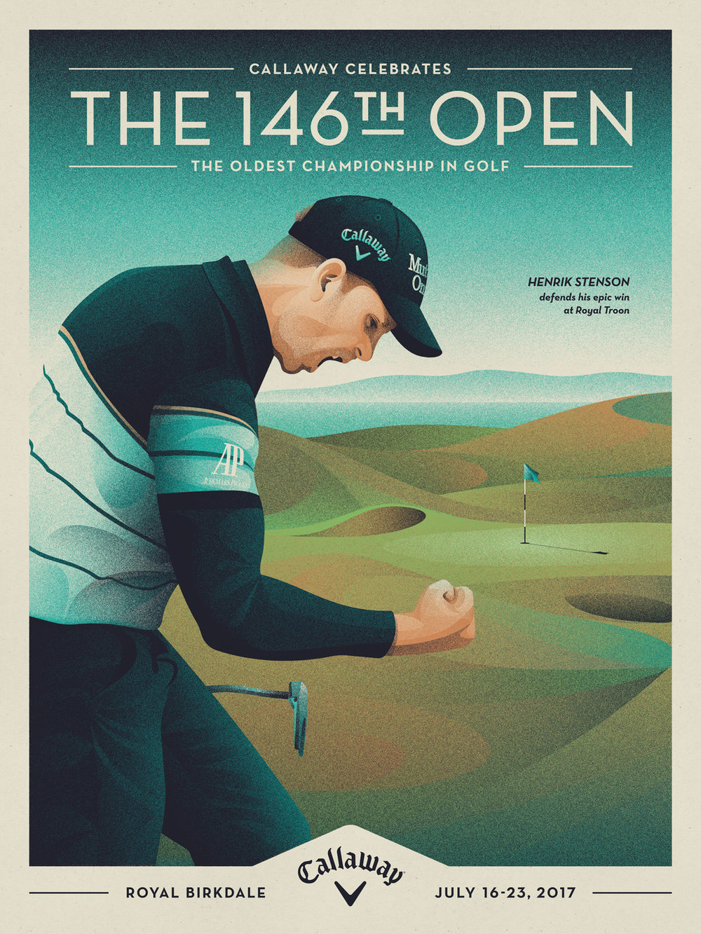 Callaway+Open+Championship+Poster+by+DKNG.jpeg