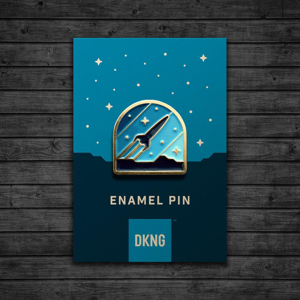 Rocketeer Pin