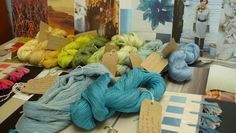 The Knitting And Stitching Show The Royal Highland Centre : Paint-Box Threads