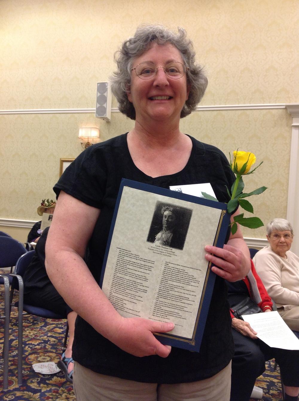 Carrie Chapman Catt Award