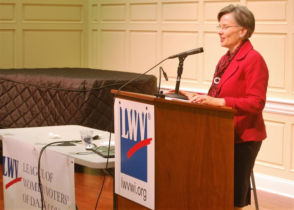 Sharon Corrigan, 2015 forum