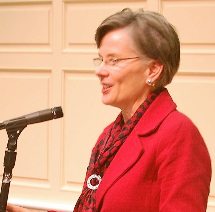 Forum speaker,Sharon Corrigan