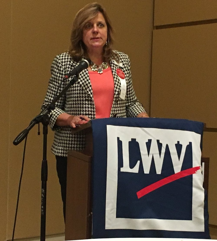 Debra Cronmiller, President of LWVWI