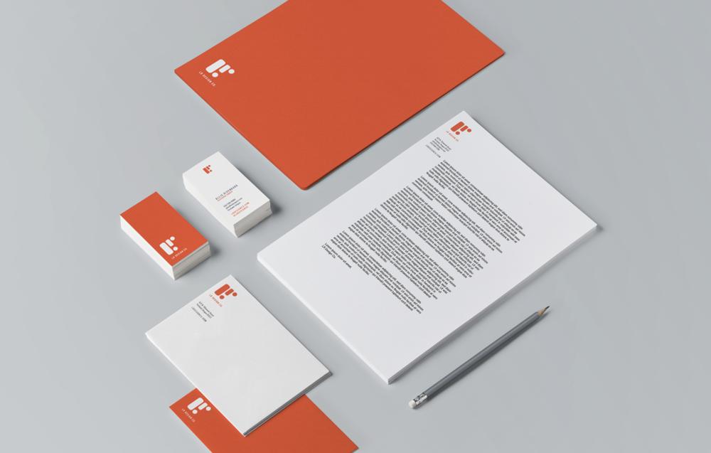 LR Design Co Brand Identity
