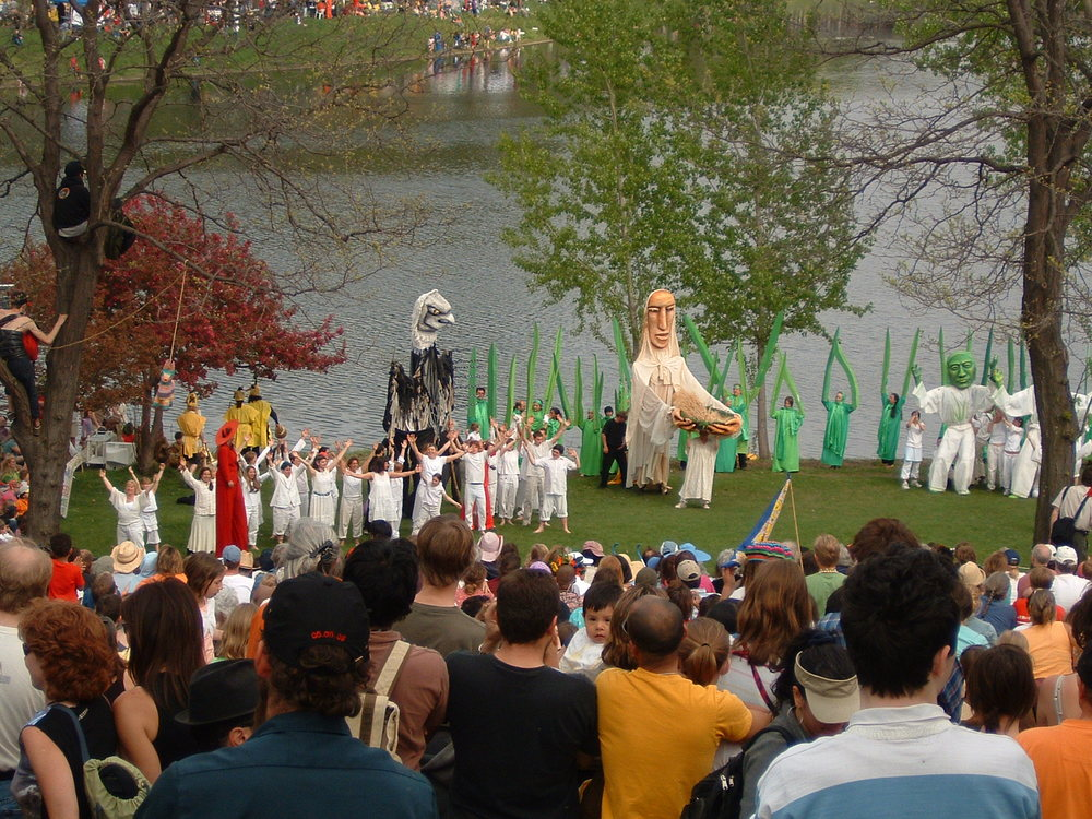 Heart of the Beast May Day celebration in Powderhorn Park. Photo by Michael Hicks.