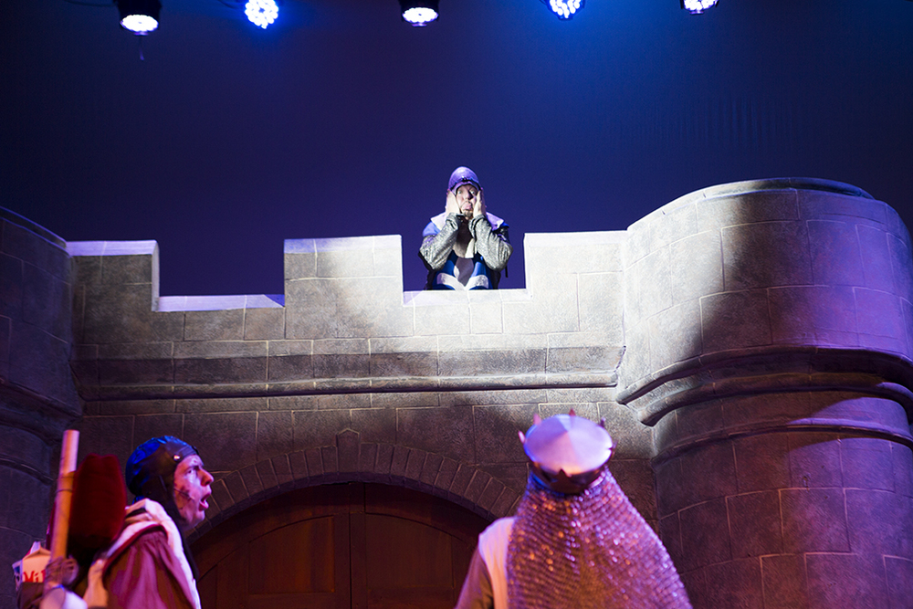 Spamalot - Scenic and Lighting Design