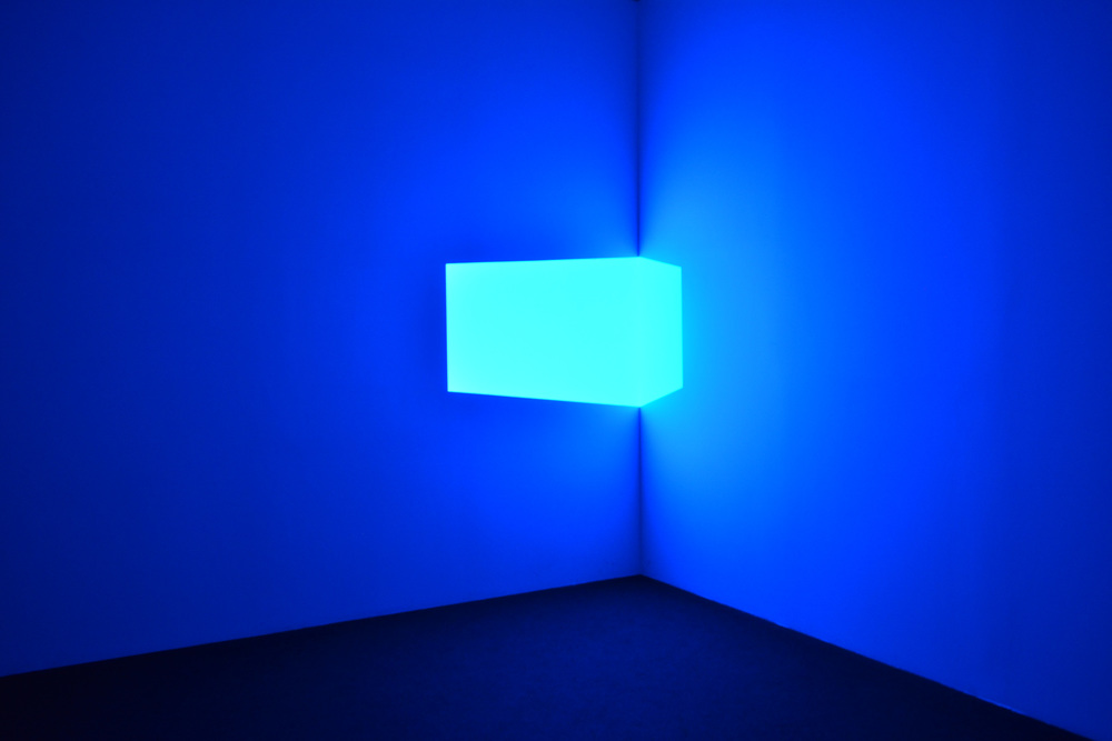 Shanta (Blue), 1967. James Turrell; Projected Light.