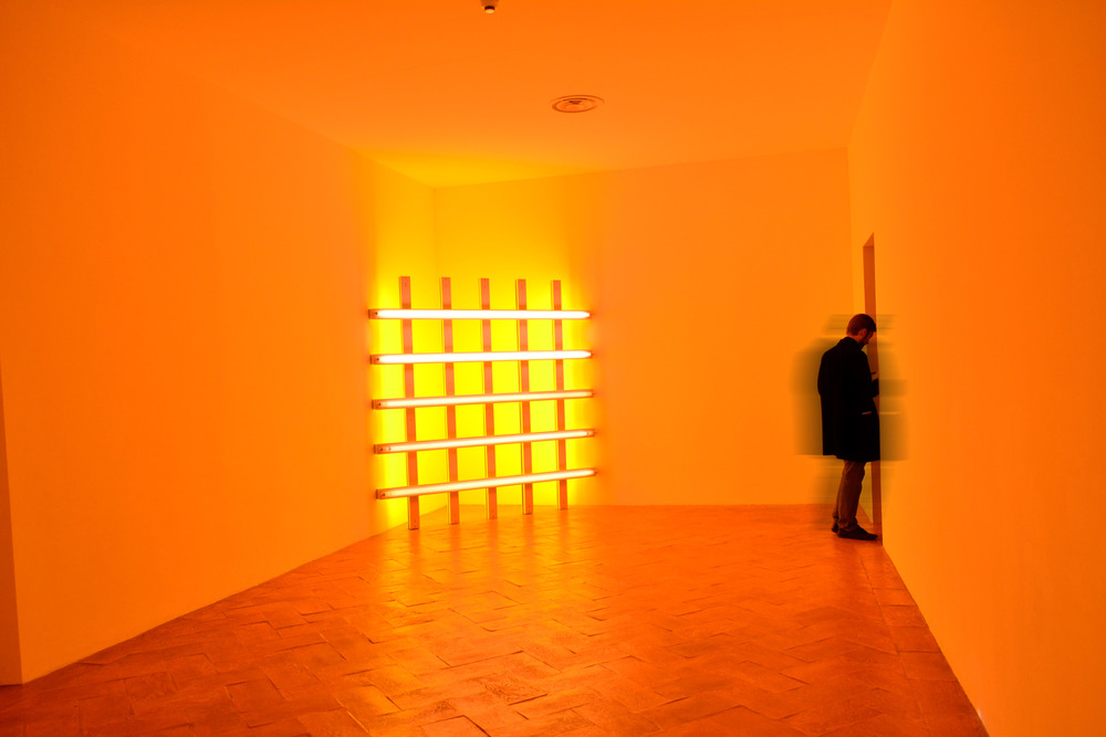 Permanent Collection, James Turrell, Robert Irwin.