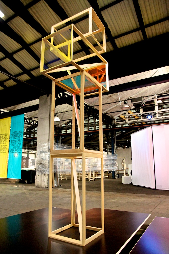 Prism exhibited at Ventura Lambrate, Milan Design week 2015. Image courtesy from Jakob Hartel
