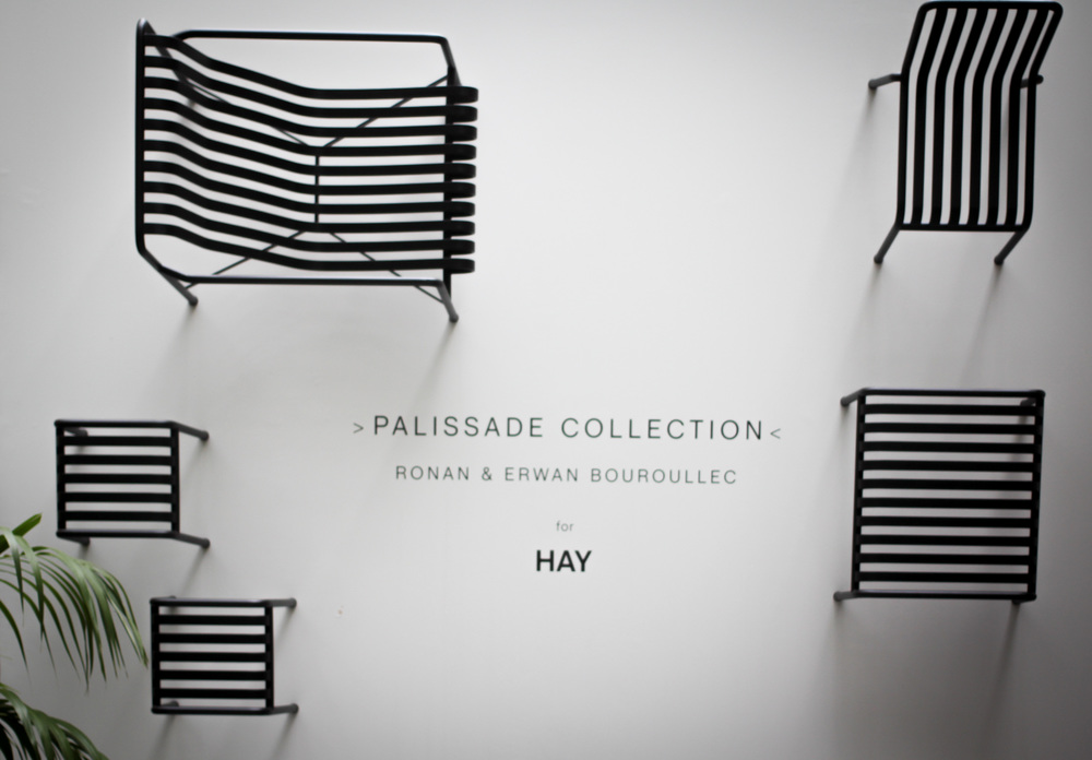 Palissade Collection. HAY. Fuorisalone. image©futurecrafter