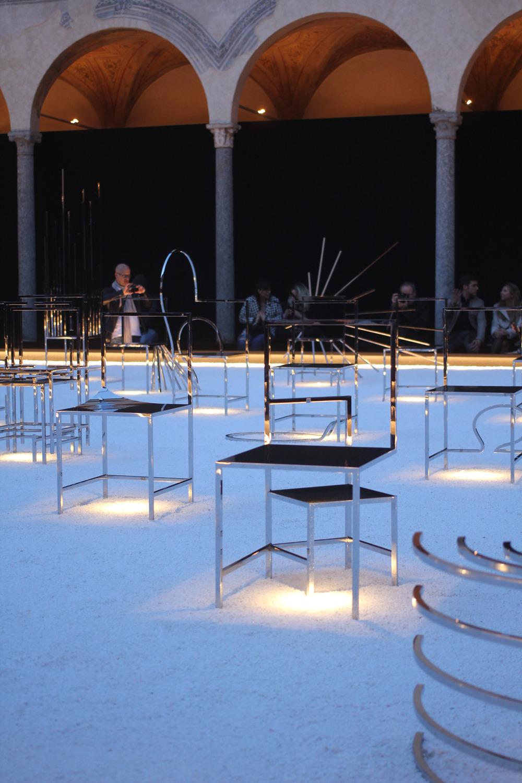Nendo,  50 manga chairs  . Fuorisalone2016.
