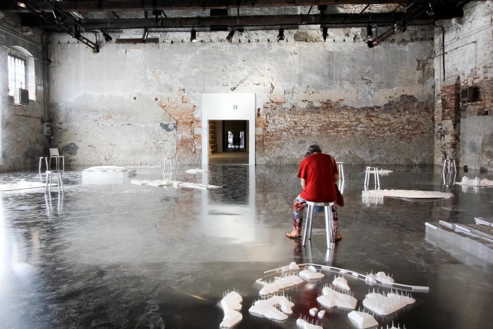 Biennale Architettura 2016. Arsenale.Image©Futurecrafter