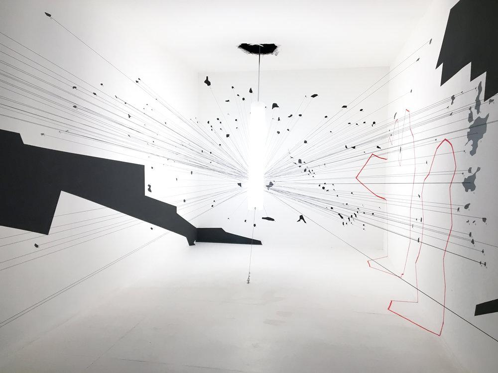 Forensic architecture. Biennale Architettura 2016. Giardini.Image ©Futurecrafter