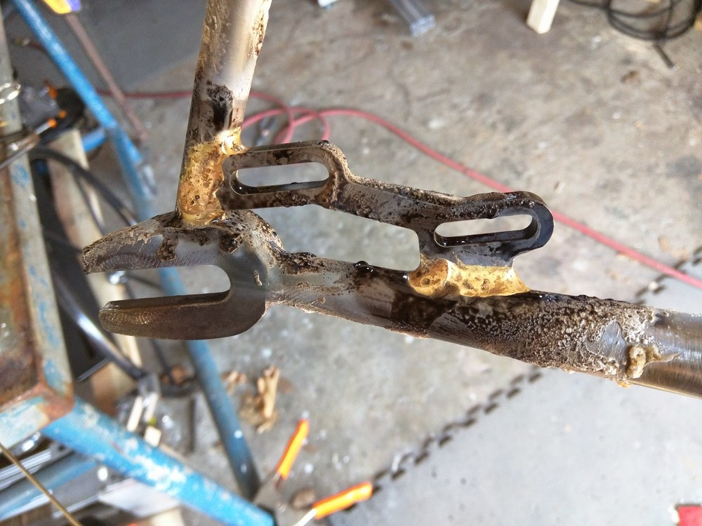 ...and brazed on.