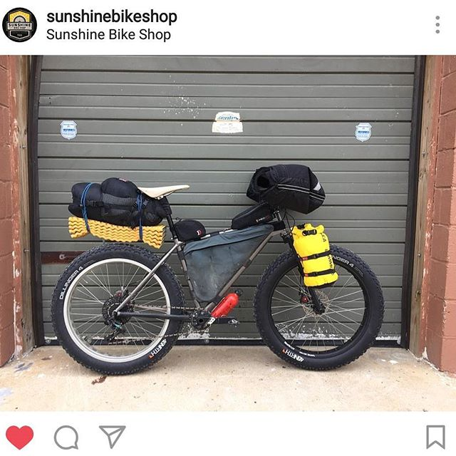 Repost from @sunshinebikeshop of a fork I did.  I guess if I am in no where near good enough shape to do something like the #arrowhead135 at least one of my forks is.