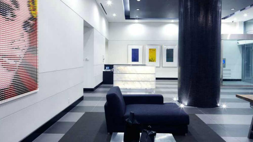 Residential Lobby, Toronto, Canada