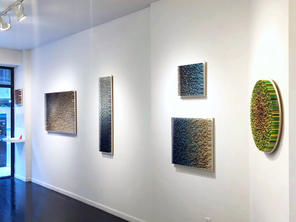 """Transitions"" Solo Show, Krause Gallery, New York, NY"