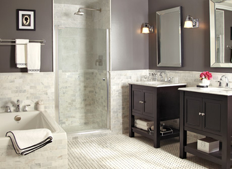 Easy Bathroom Remodeling Design Ideas Bolster - Home depot bathroom renovations