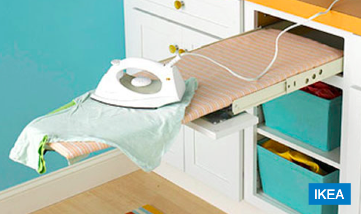 Bolster space-saving renovation advice pull out IroningBoard