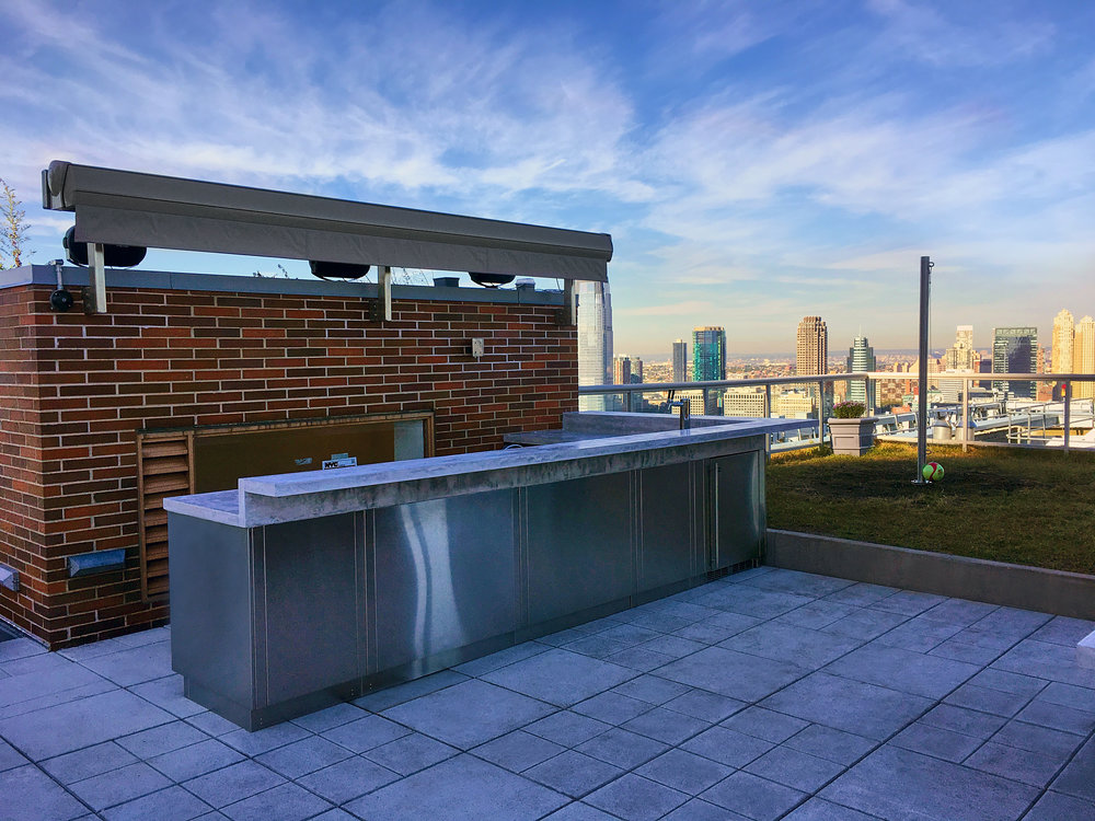 Bolster Rooftop Renovation Project Battery park City designed by Bolster Architect Agustin Ayuso