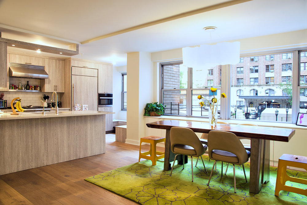 UWS Apartment Combination - This $526 / SF apartment combination and gut renovation project had a 12 month design schedule and an 8 month build schedule.