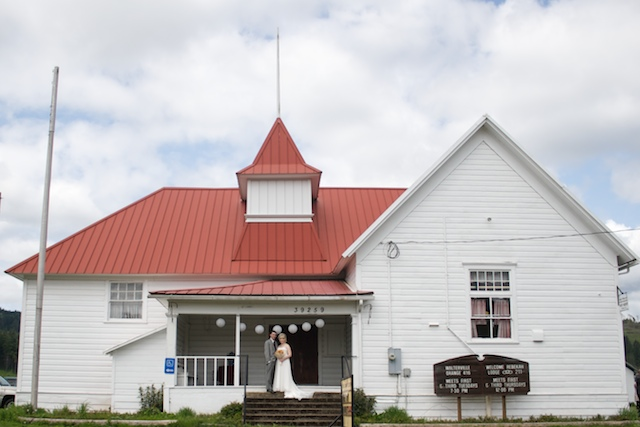 Walterville Grange Hall Wedding