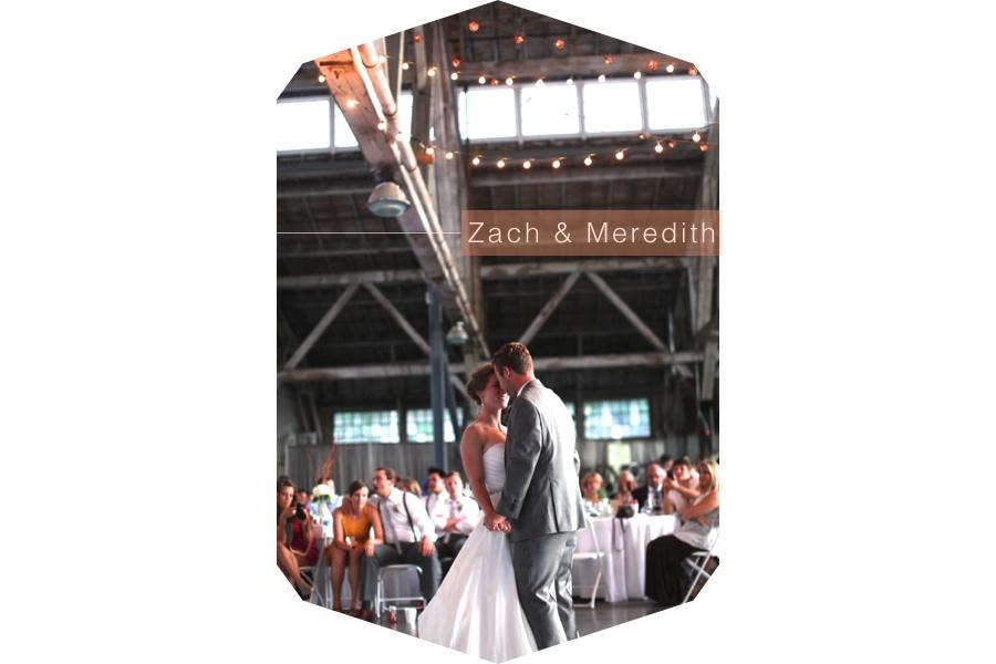 Zach Meredith Hunter Wedding