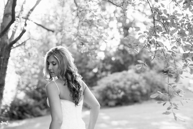 Seattle Wedding photographer bridal portraits woods trees bride rachael kruse photography photos 1 (1)