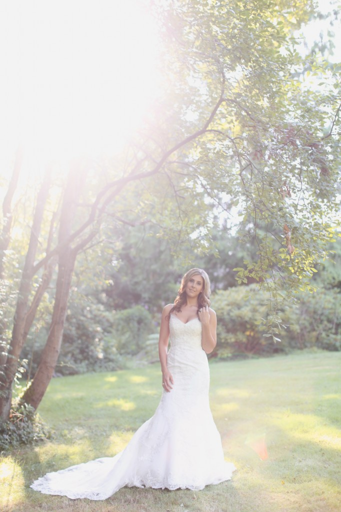 Seattle Wedding photographer bridal portraits woods trees bride rachael kruse photography photos 3