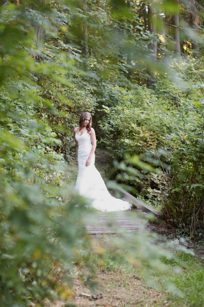 Seattle Wedding photographer bridal portraits woods trees bride rachael kruse photography photos 4