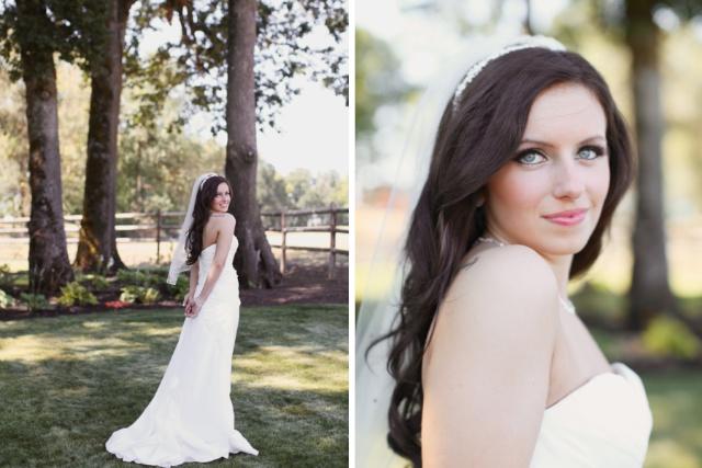 Eugene Oregon Wedding photographer whisper-n-oaks woods trees bride rachael kruse photography photos (1)