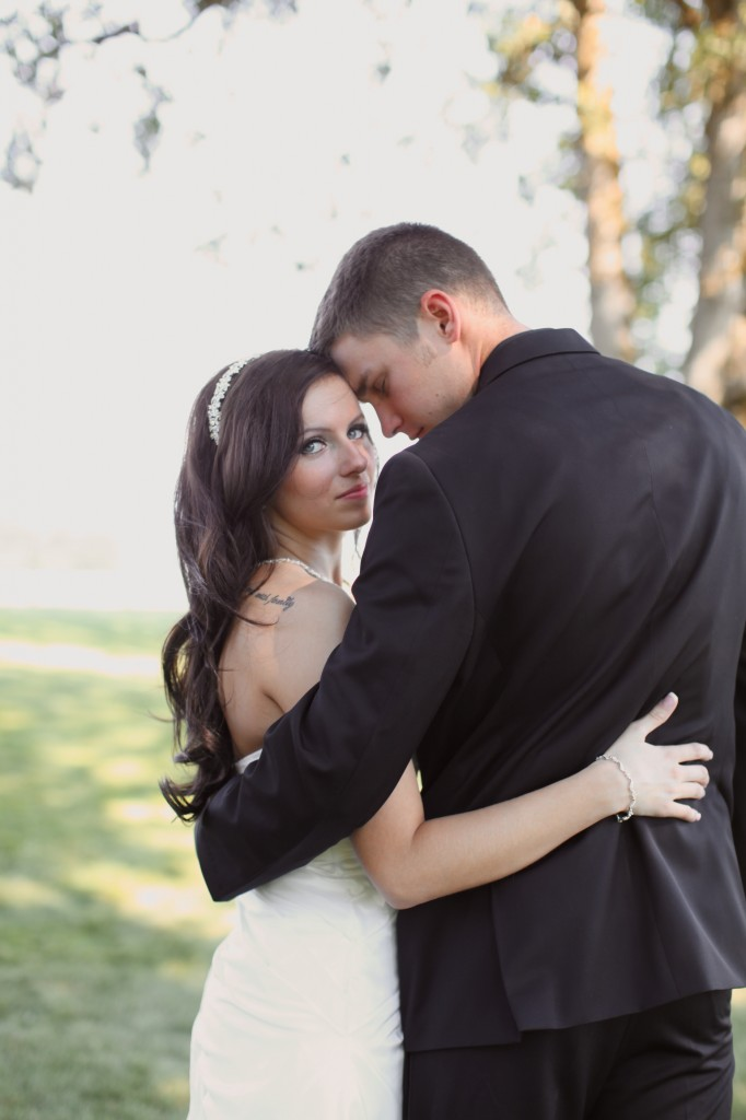 Eugene Oregon Wedding photographer whisper-n-oaks woods trees bride rachael kruse photography photos 5