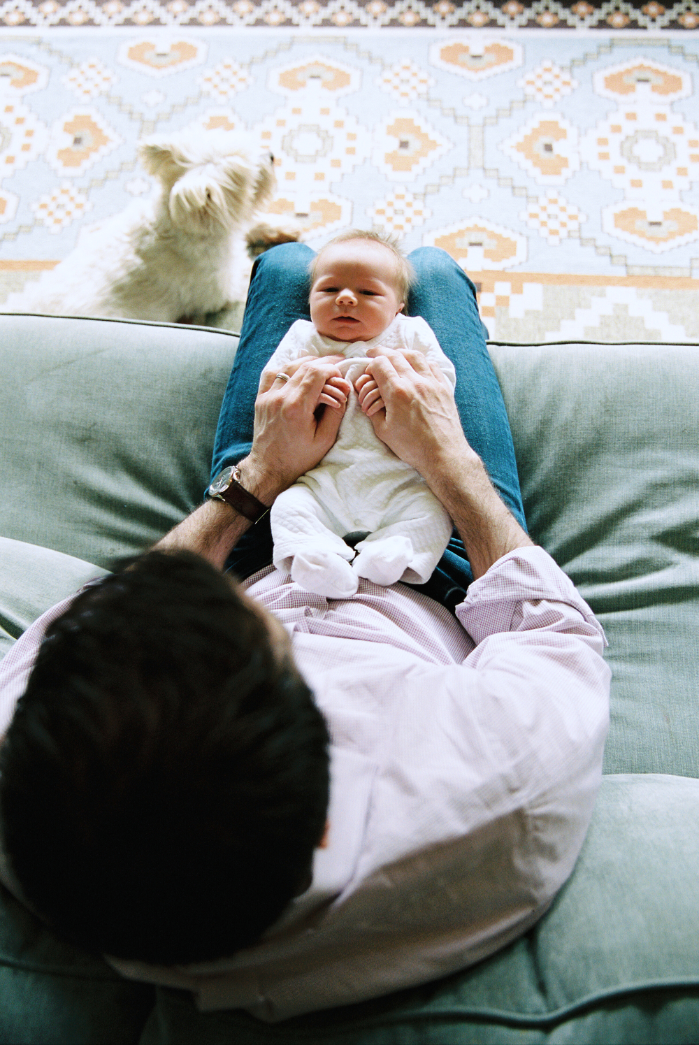 seattle newborn photographer new born baby kids family children home house rachael kruse photography mother father boy boyhood film photographer photography